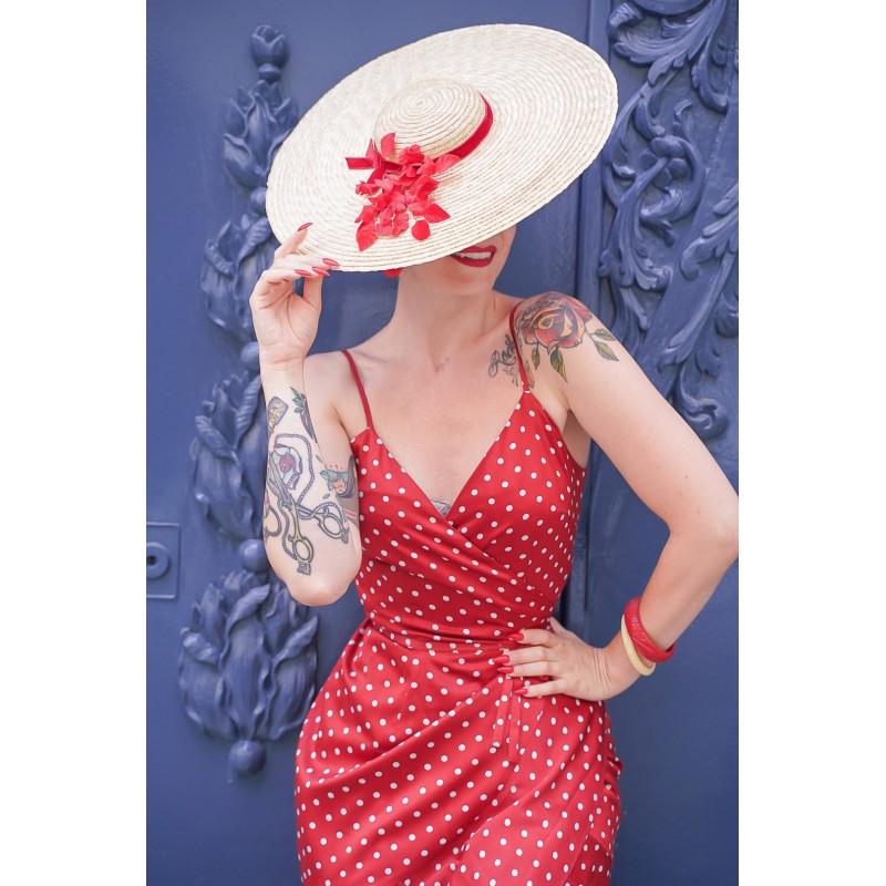 Chapeau SUMIE Rouge