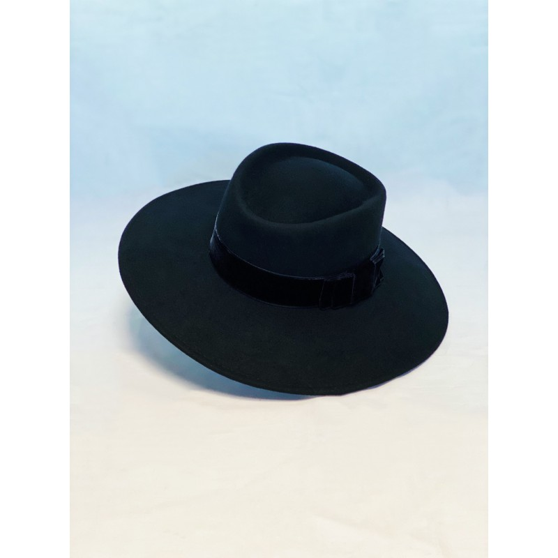 BLAIR Fedora Hat Black