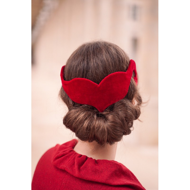 Aphrodite Red Headpiece