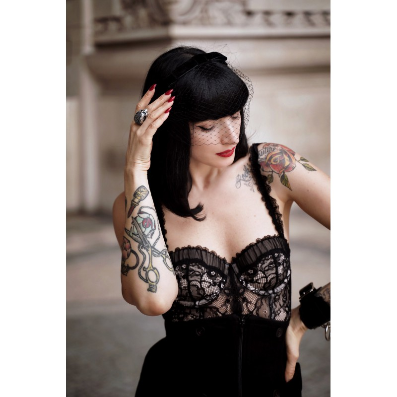 DITA Veil Headband Black