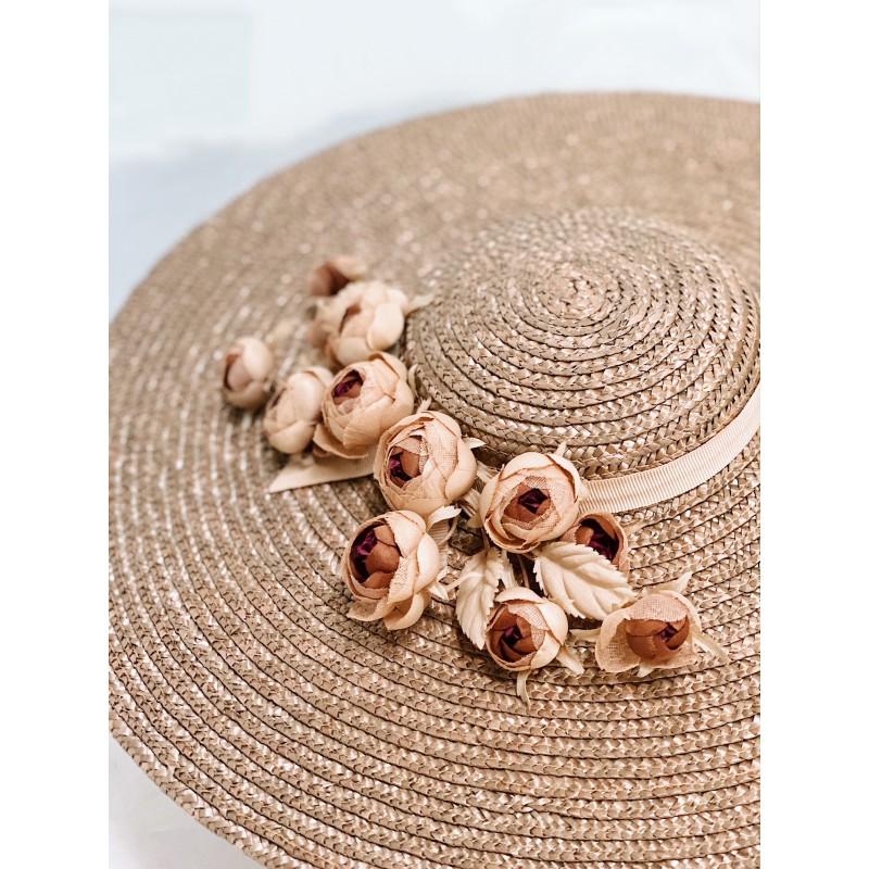 DEBBIE DOLL Hat in Walnut