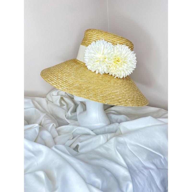LANA Hat in Ivory