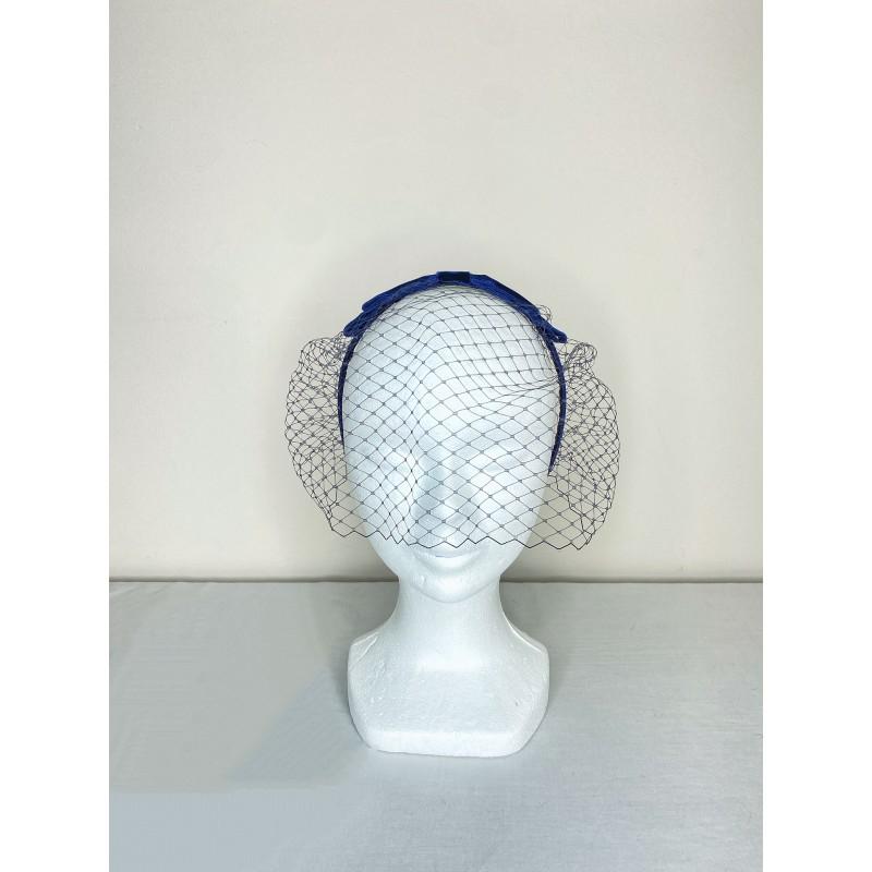 DITA Veil Headband Navy Blue