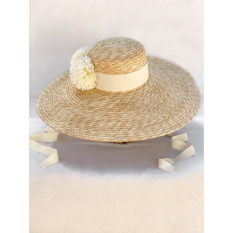 BYLITIS Hat in Ivory