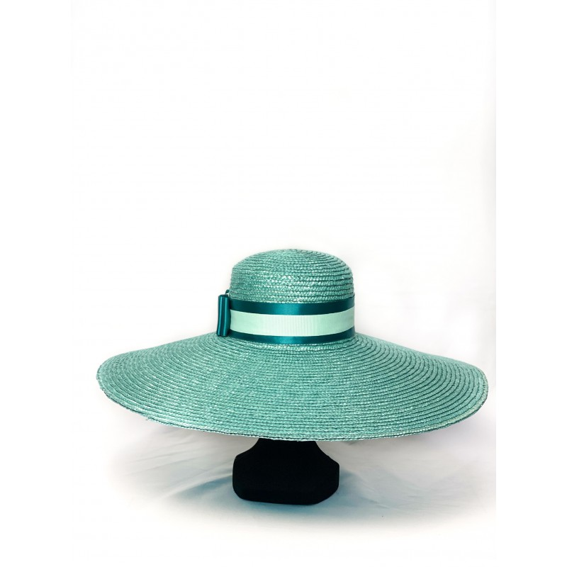 Chapeau MARYLOR Bleu Teal